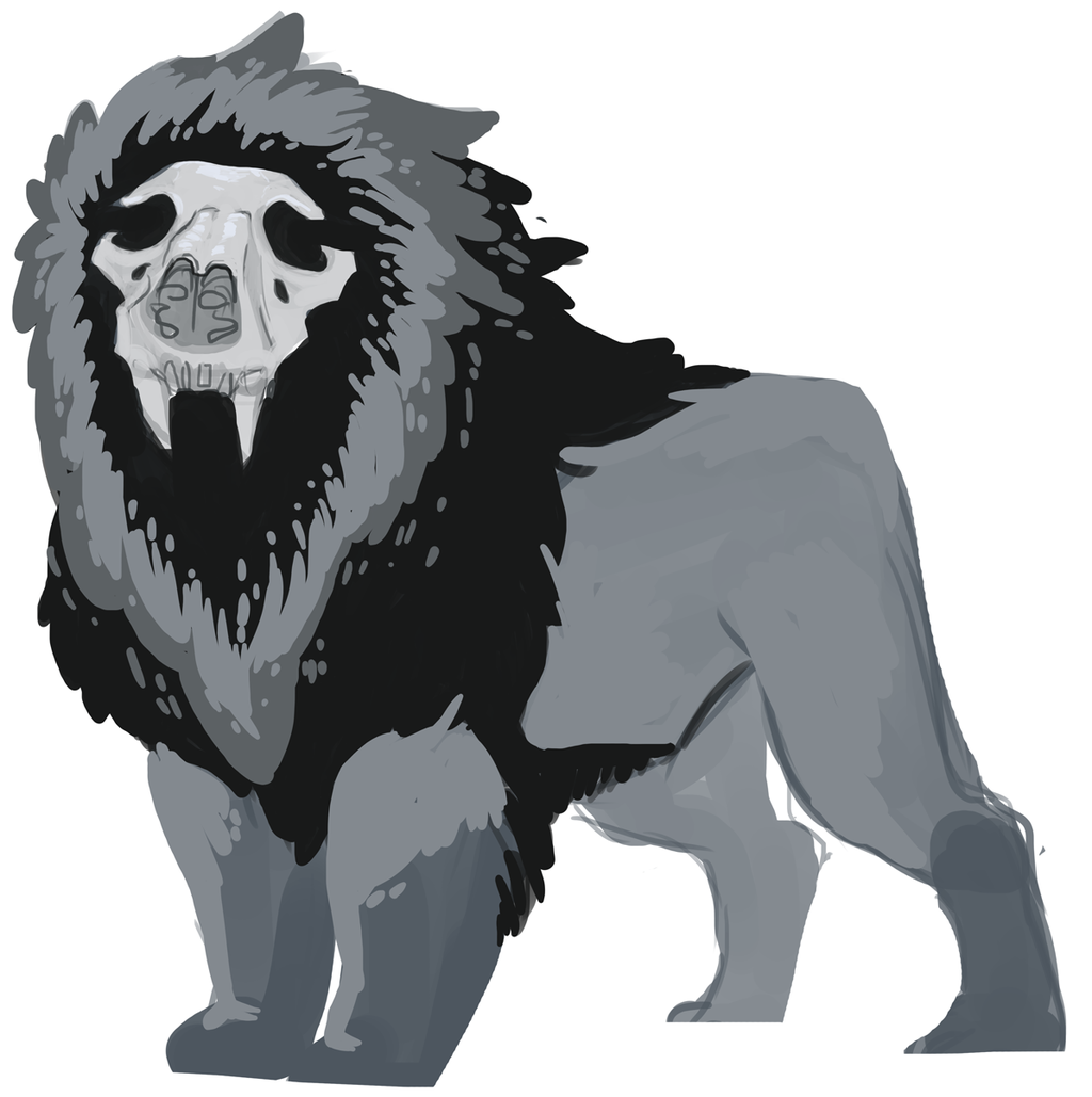 Most recent image: Skull Lion