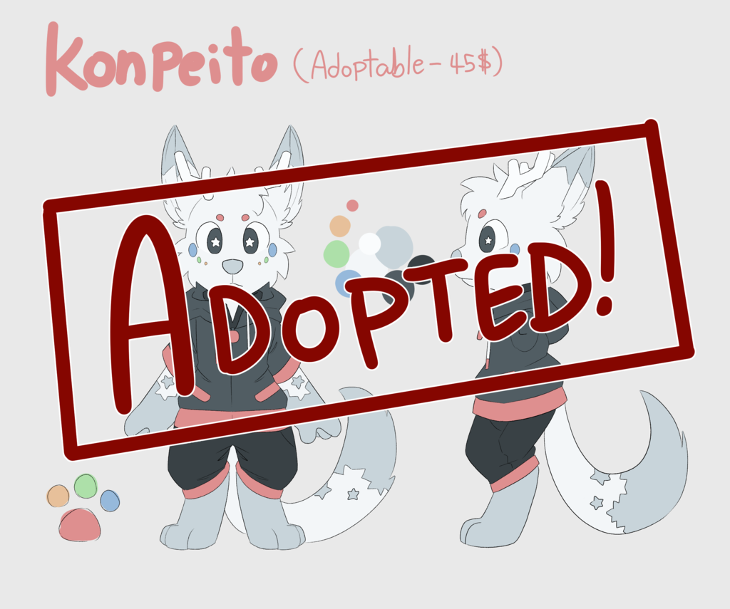 Most recent image: Adopted!! - Konpeito