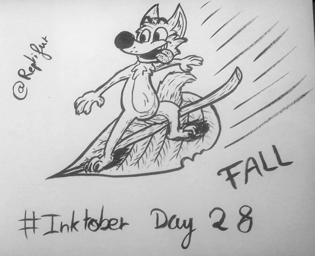 Inktober Day 28 : FALL