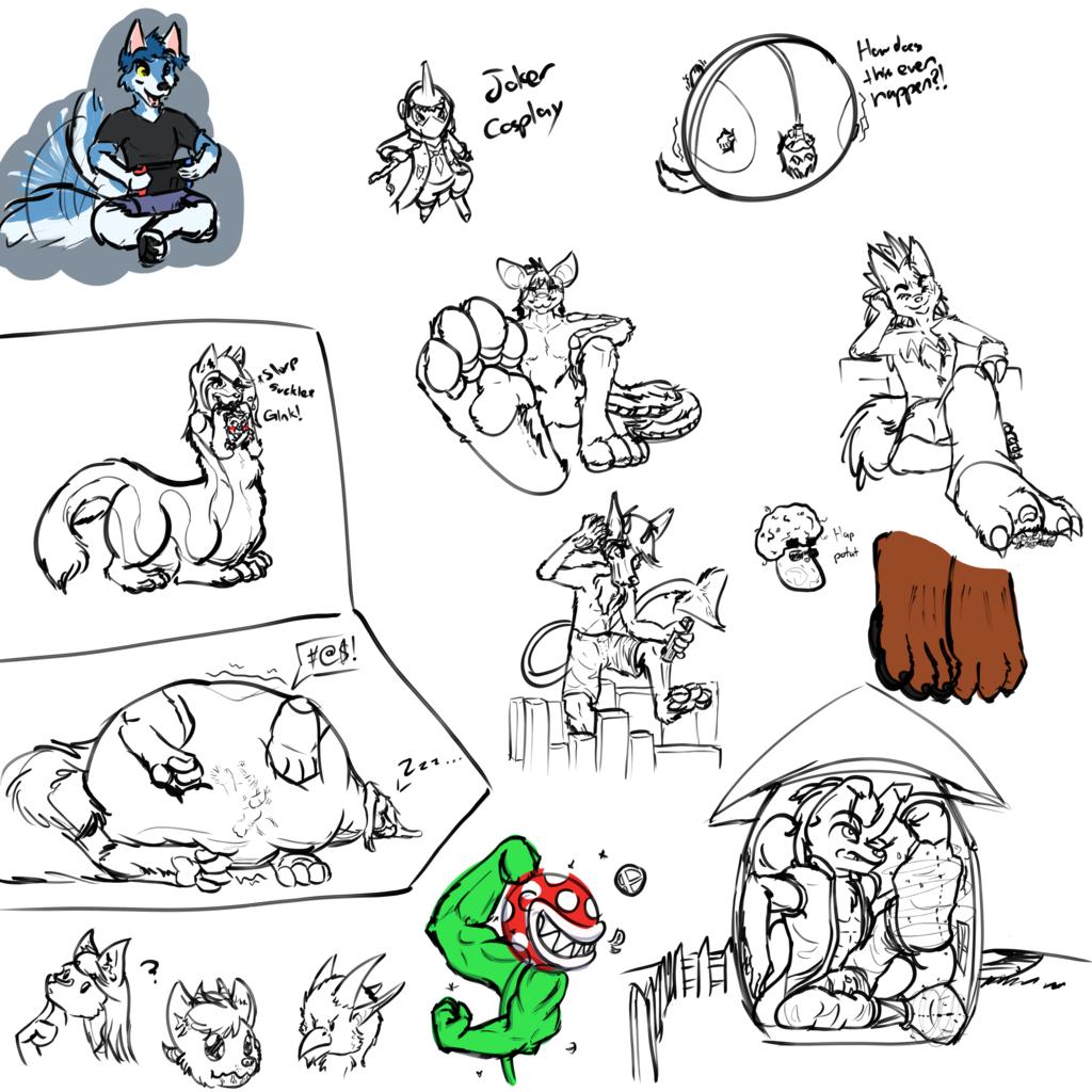 Stream Sketches [5/1/19]