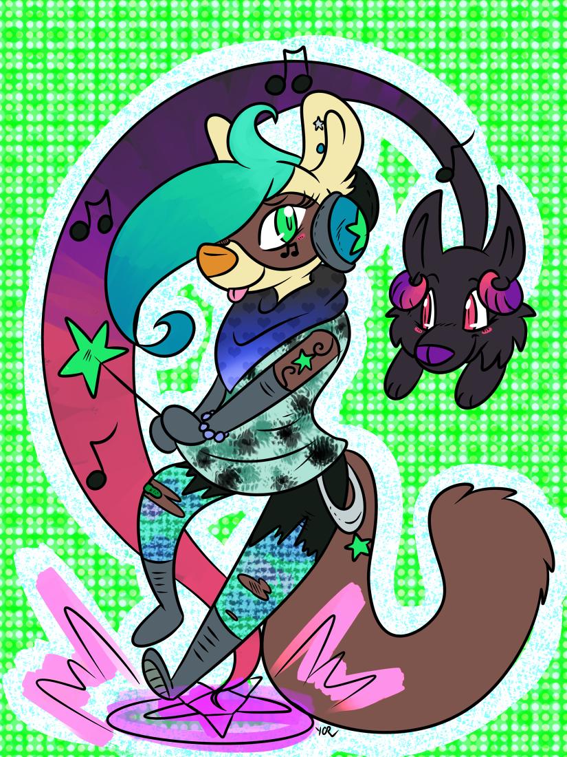 comm - Seapunk Witch Armeline