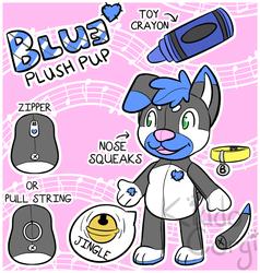 [P] Blue Plushie Ref
