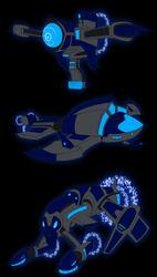 Comm: Spaceship digimon 2