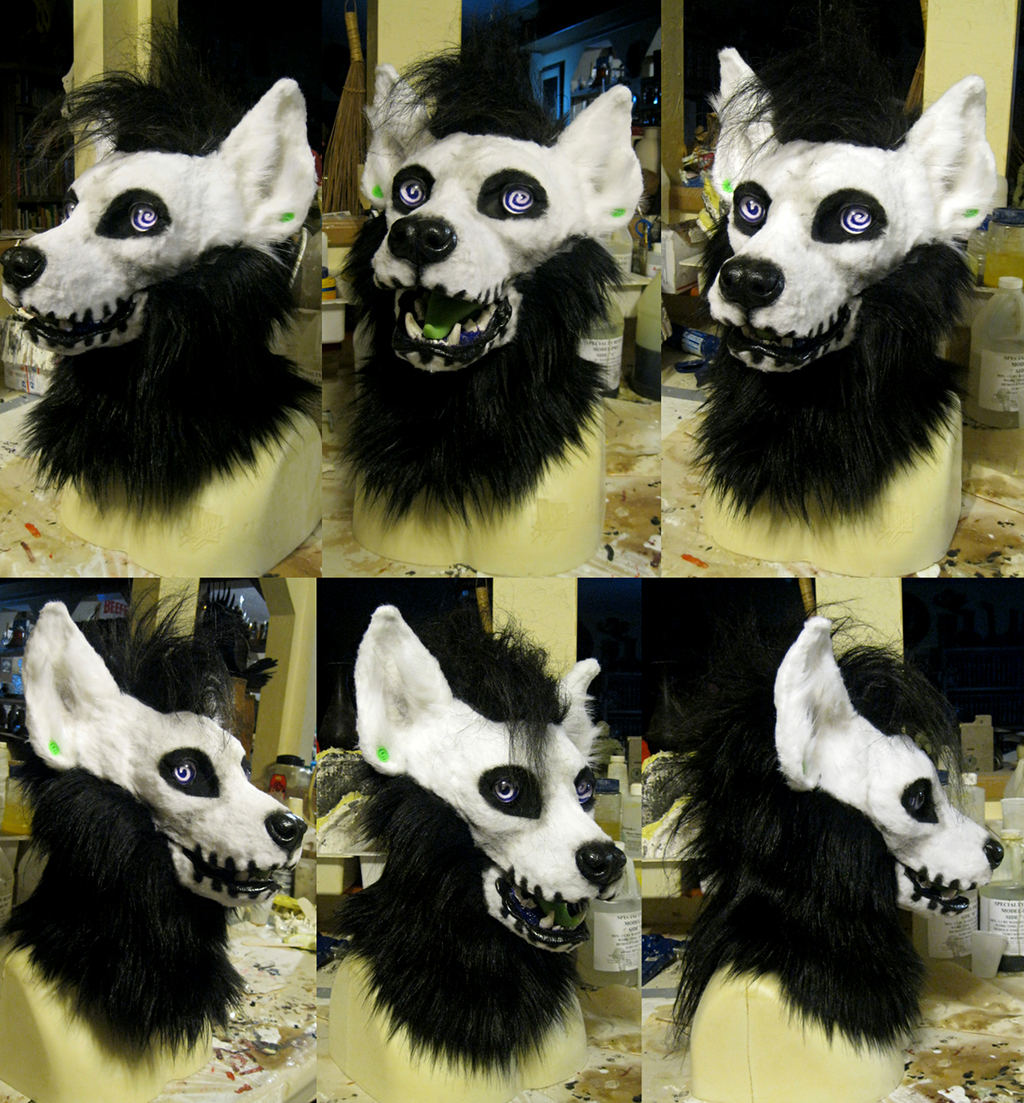 Witch the striped hyena!
