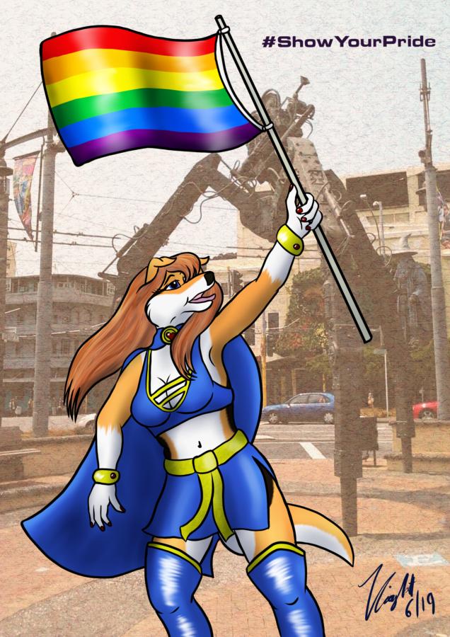 "Super Collie ""Show Your Pride"" (1)"