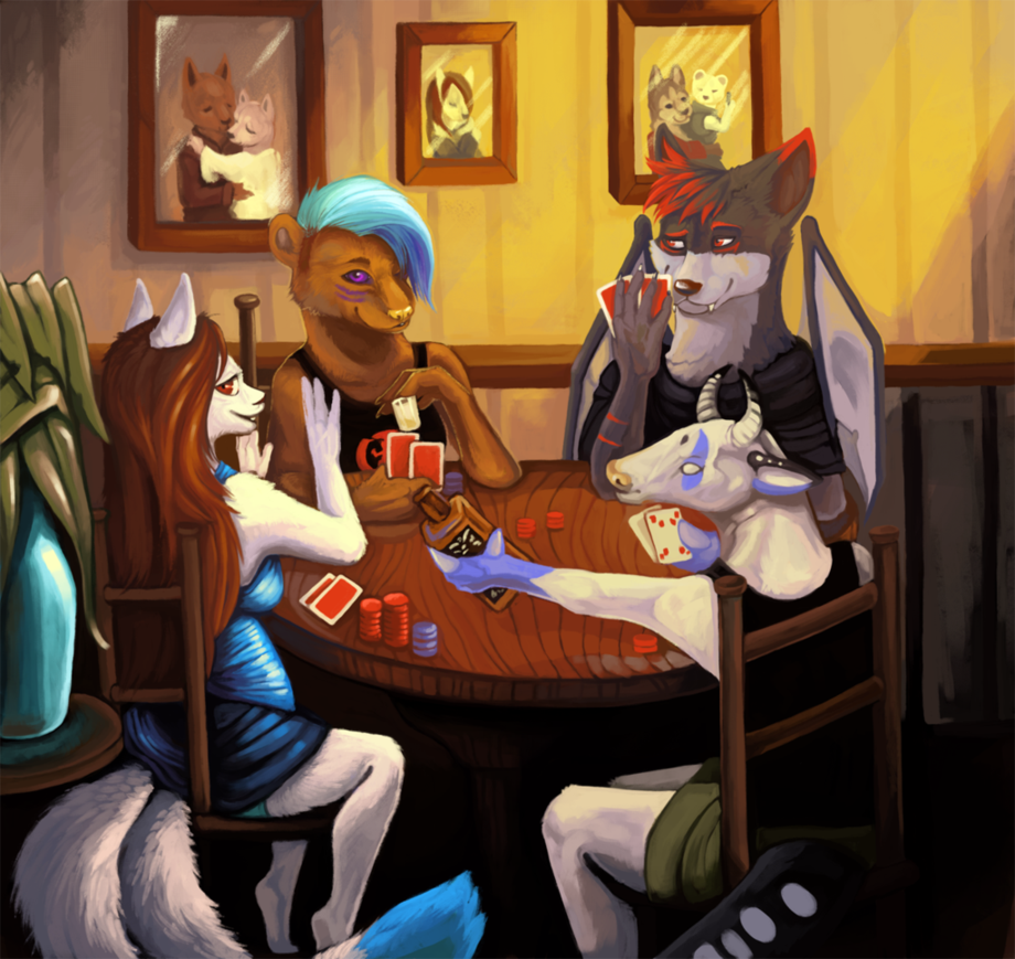 Most recent image: Gambling with friends