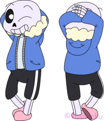 Sans - Front and Back Practice