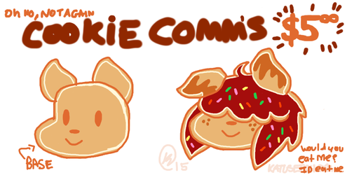 ohno its back COOKIE COMMS