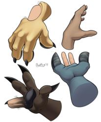 Hands Painting Practice