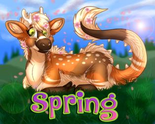 Spring Badge