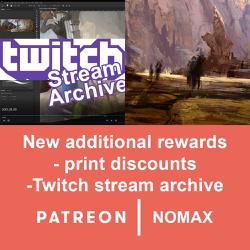 New additional Patreon rewards