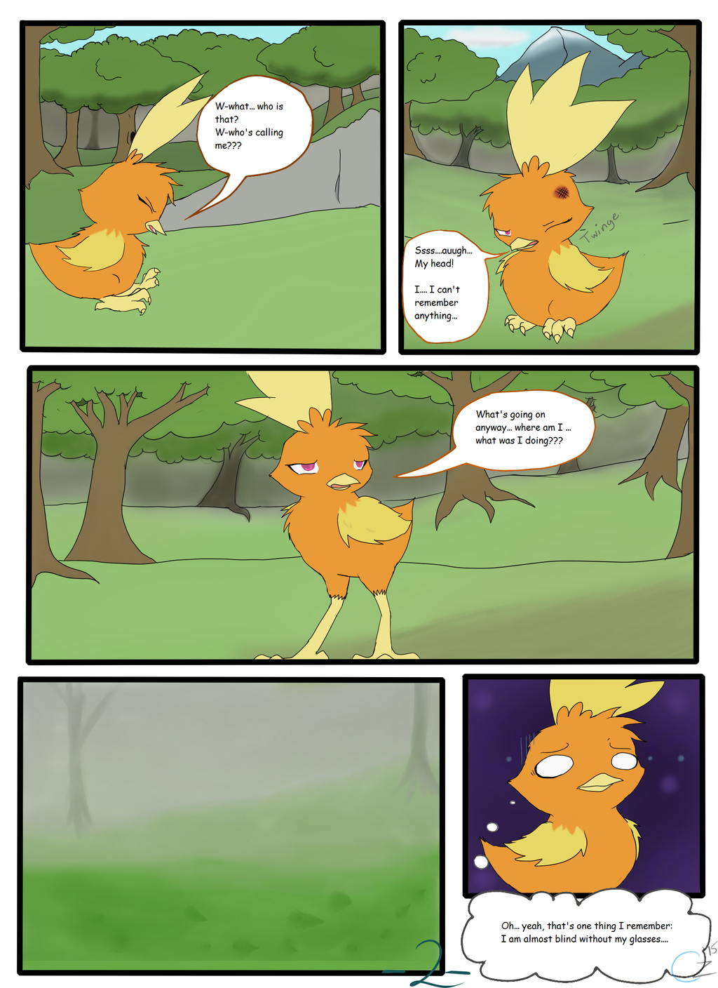 The Adventures of Team Rosewood: Ch. 1 - Pg. 2
