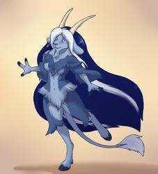 Fluffy Goat [Commission]