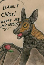 Chloe was hungry!