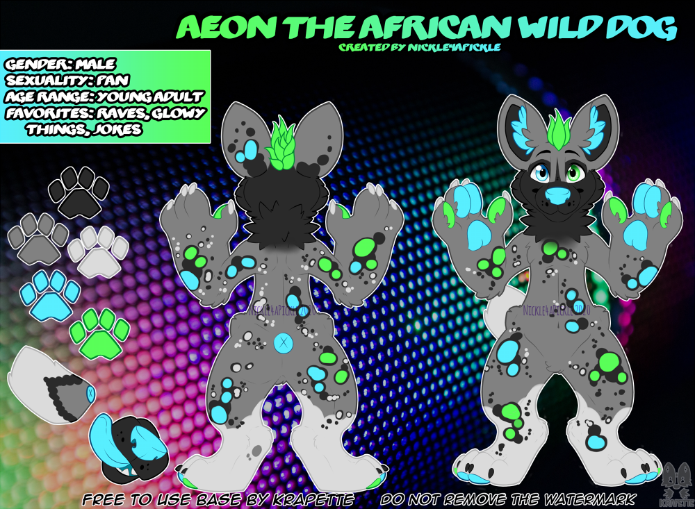 Most recent image: Aeon the African Wild Dog - May 2020