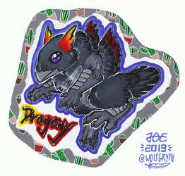 Chibi Badge - Dragony
