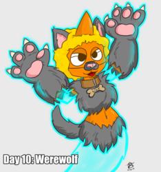 30 Day Halloween Costume Challenge - Werewolf