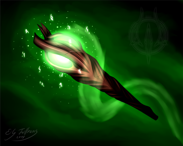 The scepter of justice