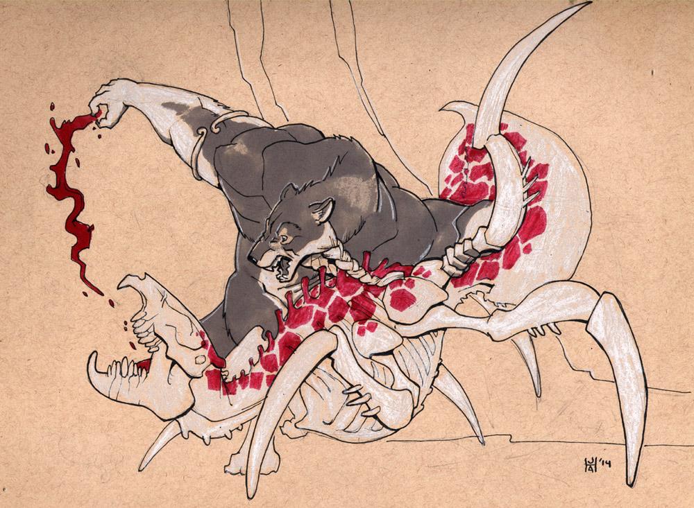 November Draw a Werewolf