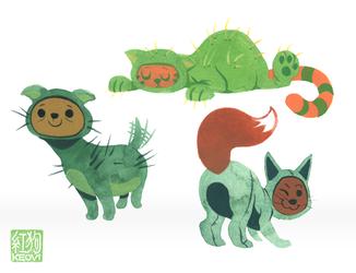 Palette Fiends - Cactus Creatures
