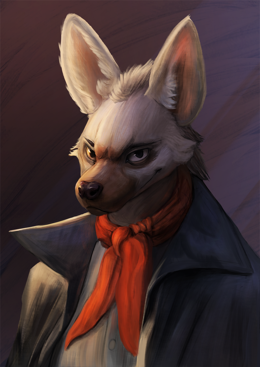 Most recent image: Aardwolf Portrait