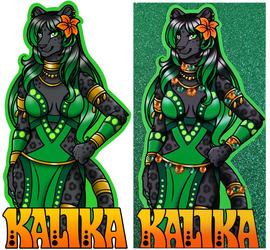 Glitter Badge - Kalika