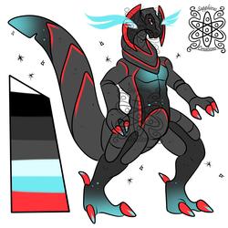 Shiny Male Haxorus +Design+ (SOLD)