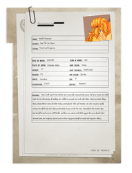 Disaster Dossier - Amy