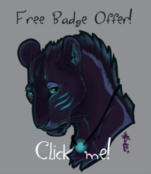Free Badge/Headhot Offer