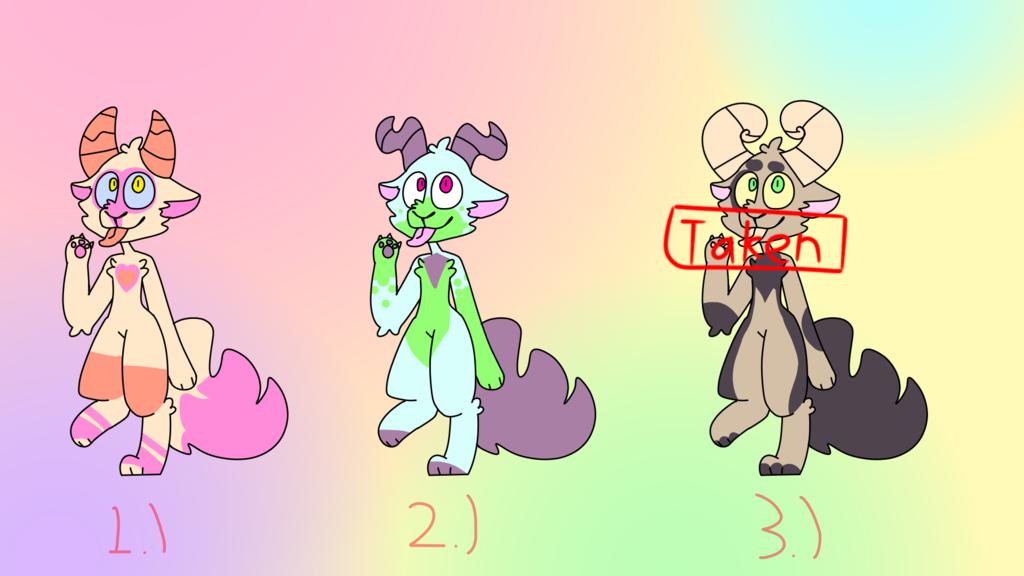 vulpe dragon free adoptables(3 is taken)