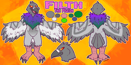Filth the Pigeon
