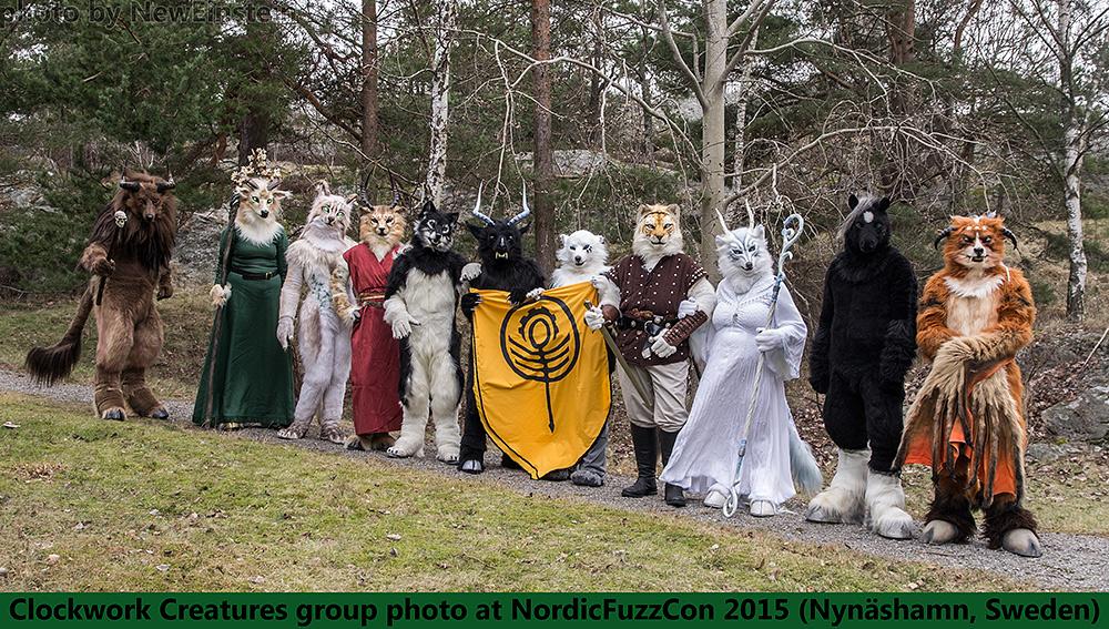 Clockwork Creatures Group Photo NFC2015