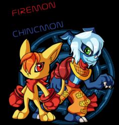 Firemon & Chincmon