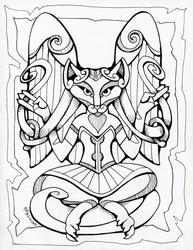 :Commission: Celtic Peachcat