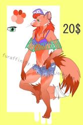 Adoptable: 20$ mongoose girl