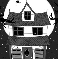 Drawlloween '20 - #3 Haunted House
