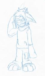 Sketch - Little Gremlin Patch