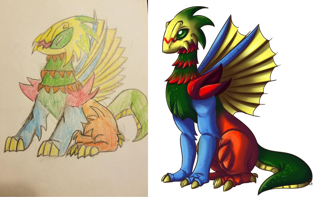 Throwback Sundays: Dragon Critter