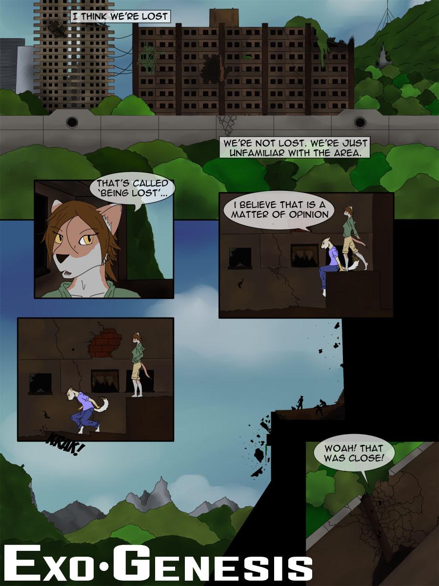 Exo*Genesis Page 1