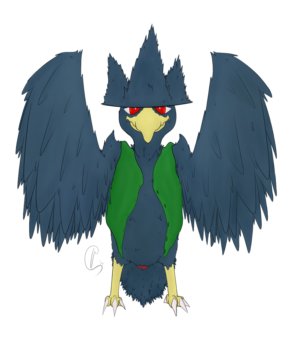 [Commision] Murkrow 3