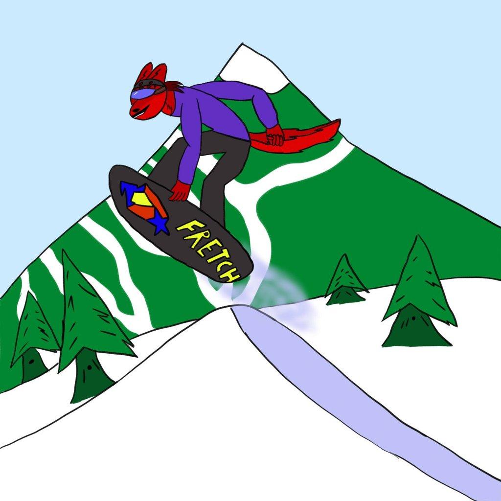 Fretch Snowboarding
