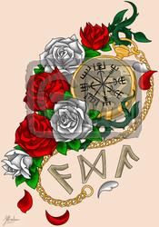 Viking Roses for Eida