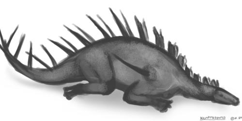 Dinovember - 21 - Kentrosaurus
