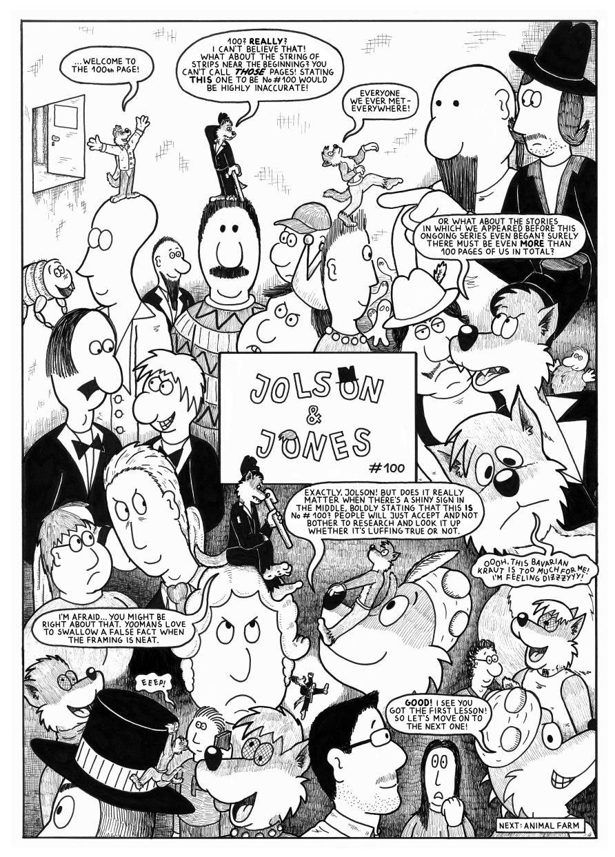 Jolson & Jones #100 - The 100th page!