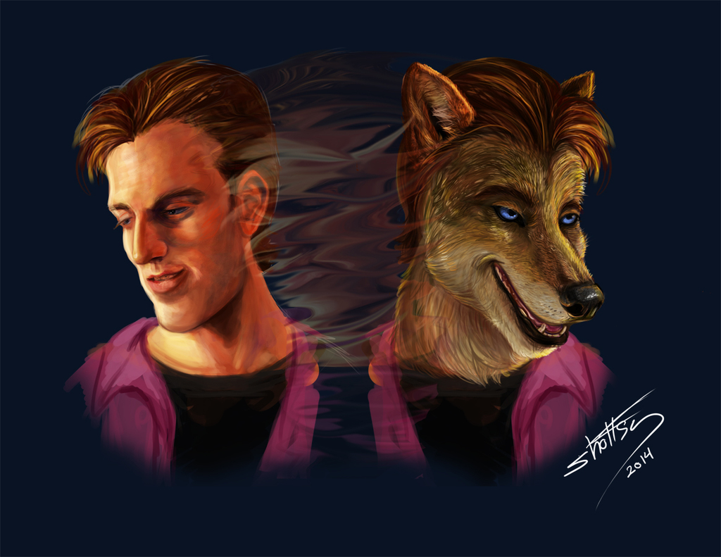 Featured image: Riley Werewolf Two Sides