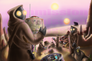 Scavengers - Commission (Finished)