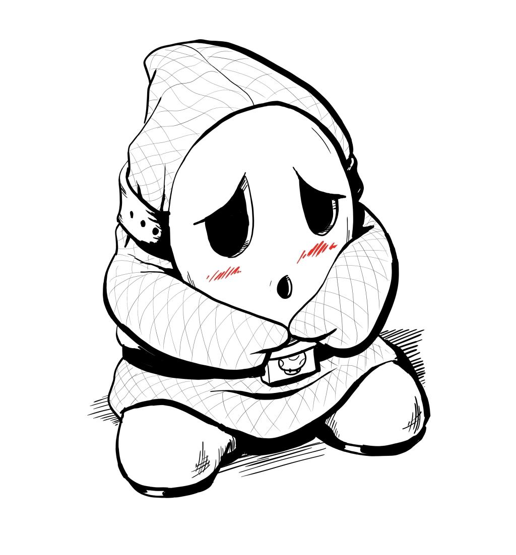 Inktober #7 - Shy