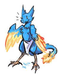 kobold, but phoenix