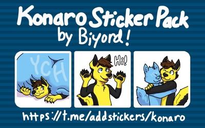 Konaro Sticker Pack