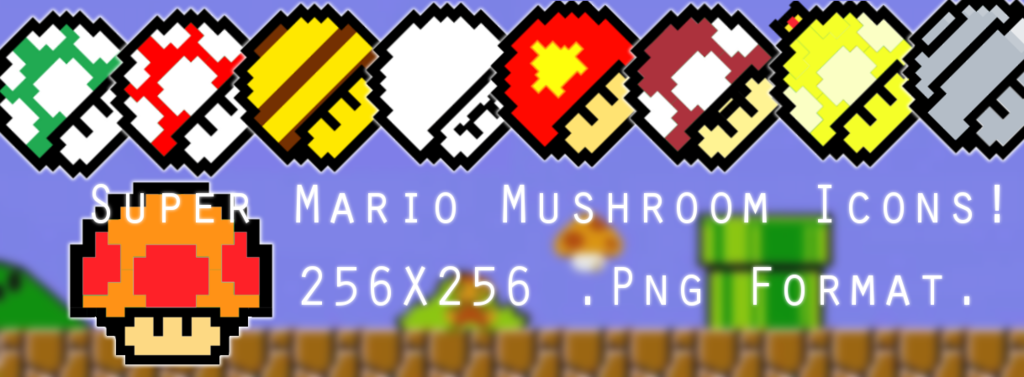 Super Mario Dock Icons